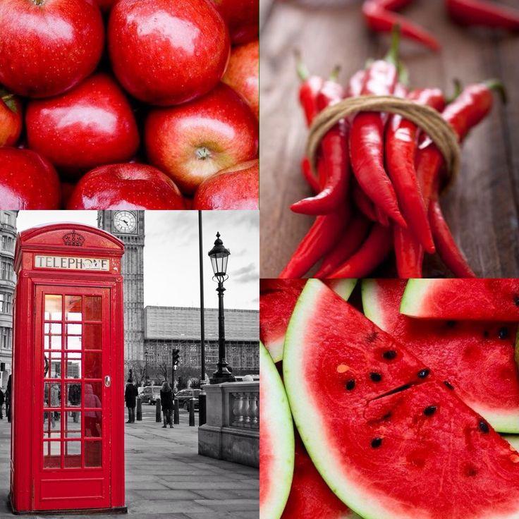Zo rood als een......*