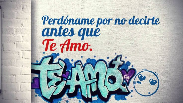 Animación Grafica. Fabián Santacruz - TE AMO (video lyrics)
