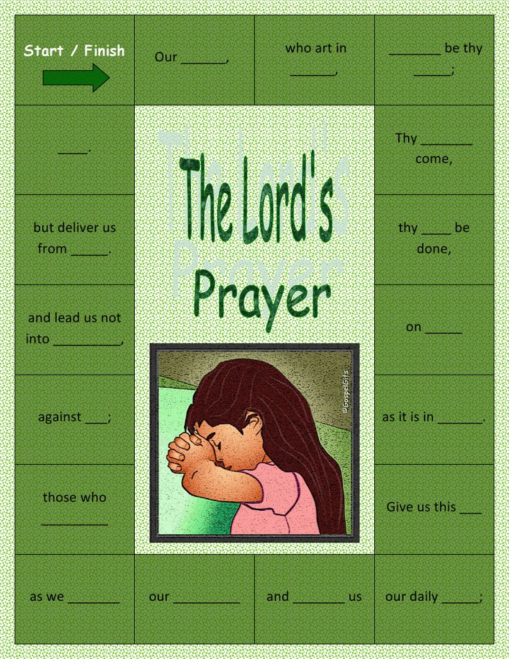 the catholic toolbox our father lord s prayer activities