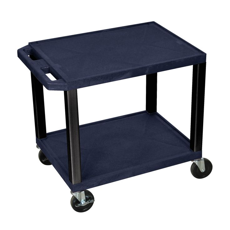Offex Navy and Black Multipurpose No Electric Utility Cart