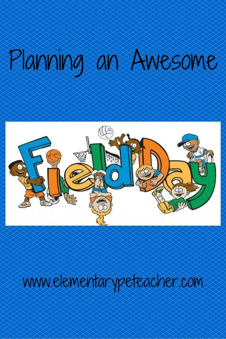 How to plan & organize an awesome field day!!  Teach on! :)