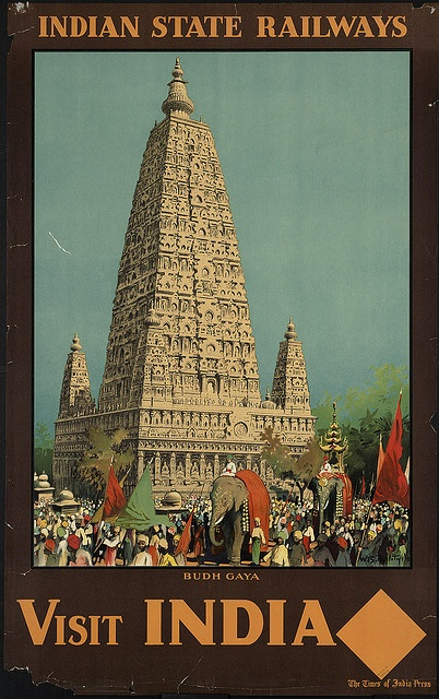 Title: Visit India. Budh Gaya    Created/Published: The Times of India Press    Date issued: 1910-1959 (approximate)