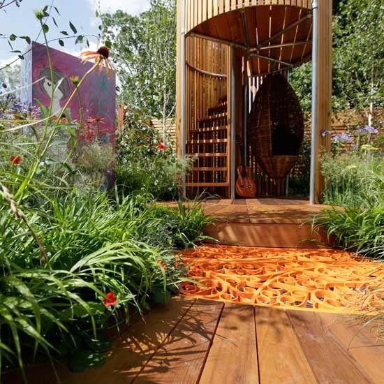 Ideal Garten Terrasse Wohnideen M bel Dekoration Decoration Living Idea Interiors home garden Teenager Garten Versteck