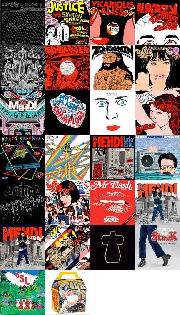 Ed Banger collage