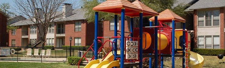 Playground at Bardin Oaks Apartments in Arlington, TX
