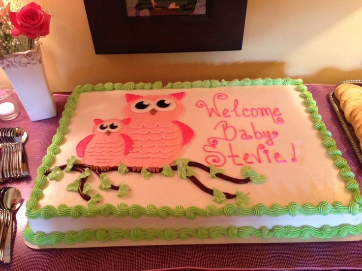 Erin's Owl Themed Baby Shower | via themajesticvision.com