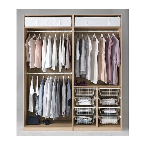 PAX Wardrobe - soft closing damper, -, -, 78 3/4x26x93 1