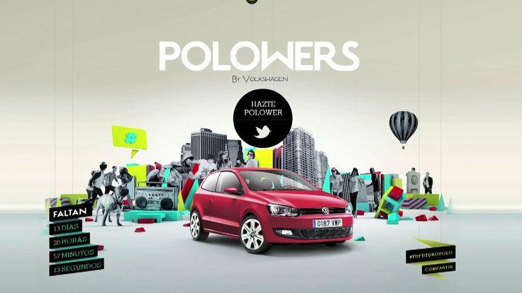 "Volkswagen Polo - ""Polowers"" case. Portfolio creativo de DDB España. // DDB Spain creative portfolio. http://www.ddb.es"