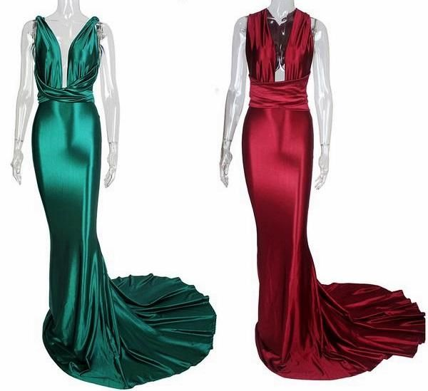 Mermaid Satin Dress