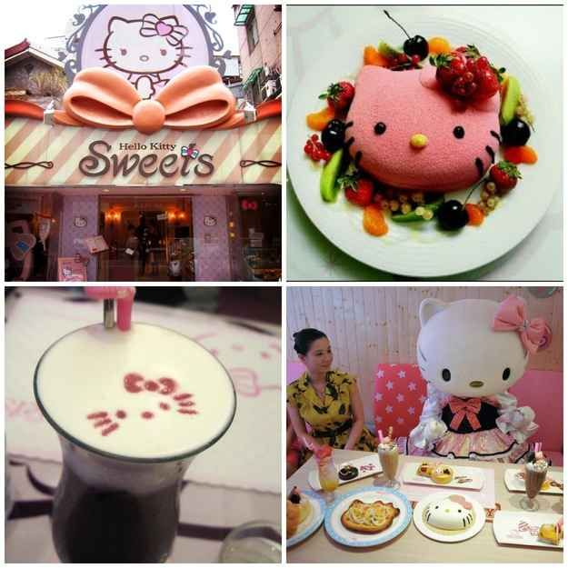Hello Kitty Sweets Restaurant in Taipei, Taiwan | 19 Places That Will Make Your Kid's Dreams Come True