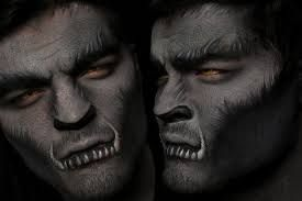 Image result for wolf makeup men halloween