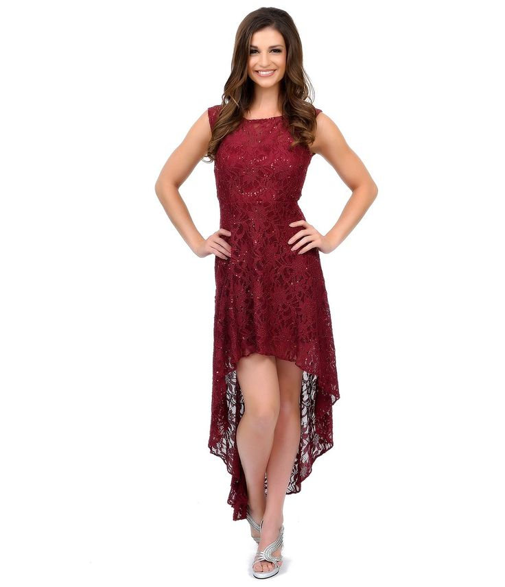 high low dresses casual lace - photo #11