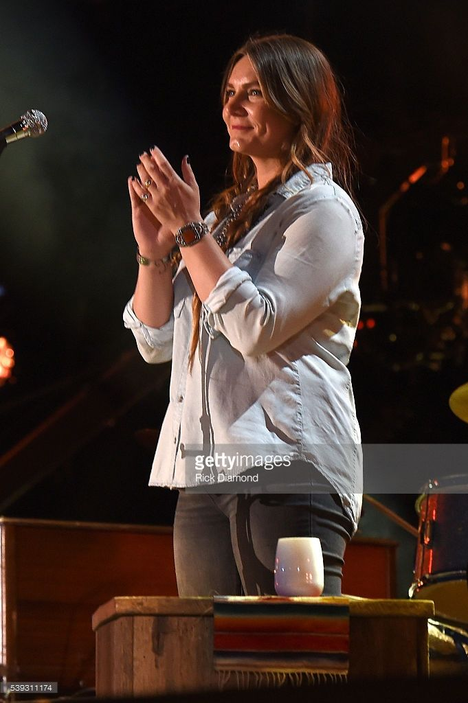 Musician Morgane Stapleton performs onstage during 2016 CMA Festival - Day 2 at Nissan Stadium on June 10, 2016 in Nashville, Tennessee.