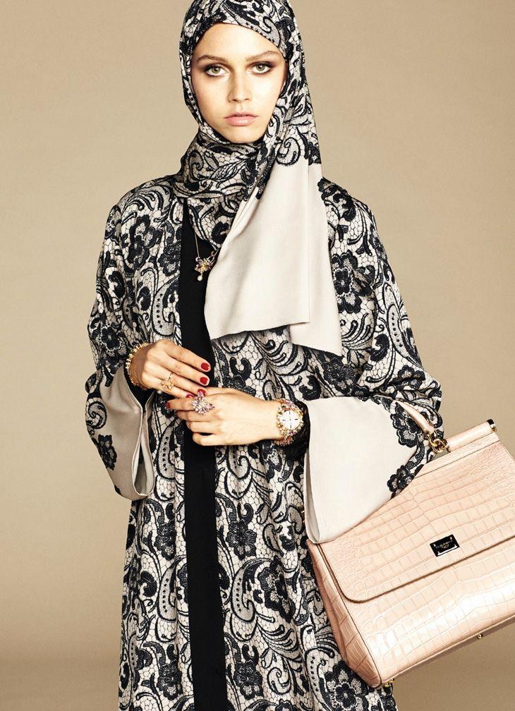 Dolce & Gabbana Launches Abaya Collection - for Muslim Women.