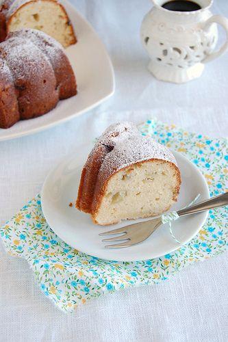 Cream cheese apple cake / Bolo de maçã e cream cheese