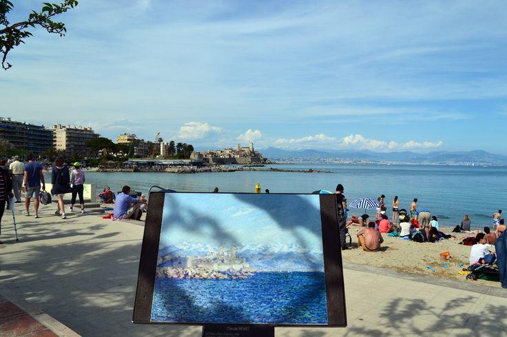 Antibes e Claude Monet