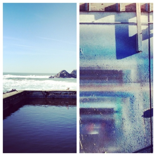 Sutro Baths / Street Art  // San Francisco / Venice, CA    /// photos : delegate j