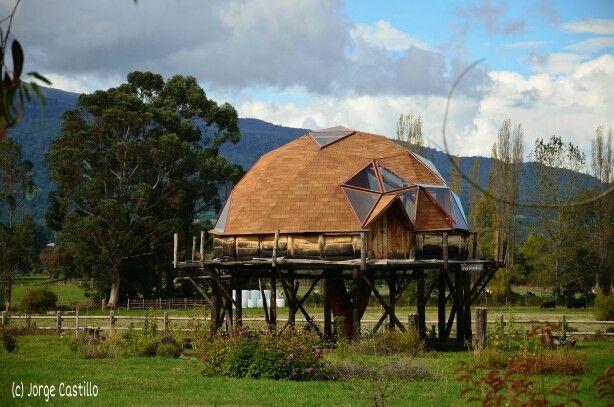 Cabaña cerca del lago Llanquihue