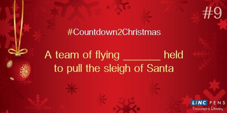 #Countdown2Christmas #9DaystoGo