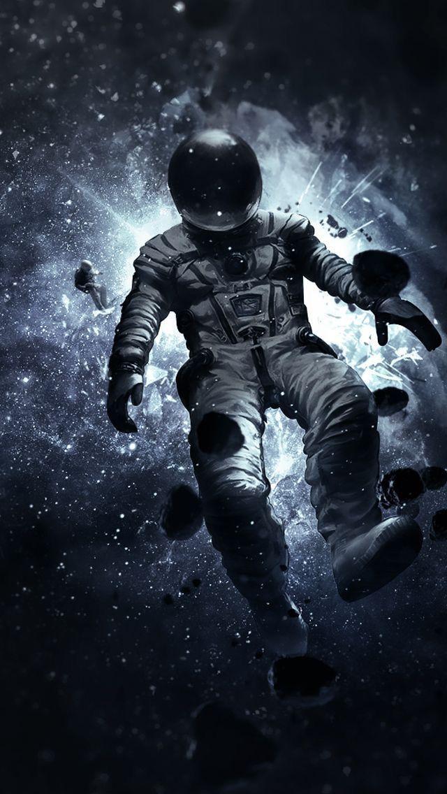Floating Astronaut Wallpaper Space art, Astronaut art