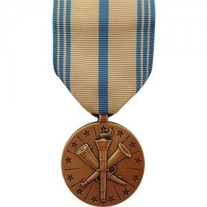The Armed Forces Reserve Medal - National Guard (AFRM) is granted to personnel who have completed 10 years of service as a member of a Reserve or National Guard component of the U.S. military. The service can be cumulative, given that the 10 years accumulate and are served over a period of 12 consecutive years. Voluntary recalls to active duty are not counted within the 10 years of service nor is service within the inactive reserves.