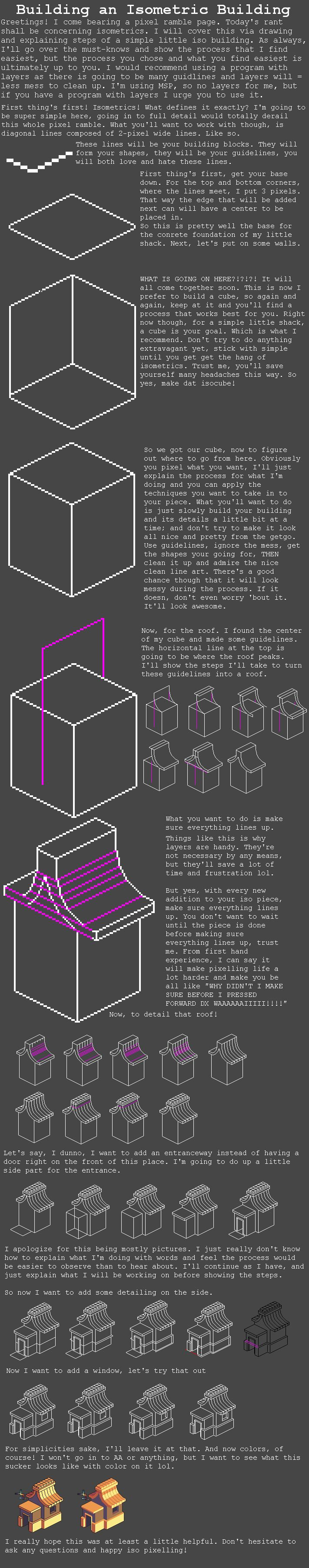 Isometric Tutorial by RHLPixels on DeviantArt
