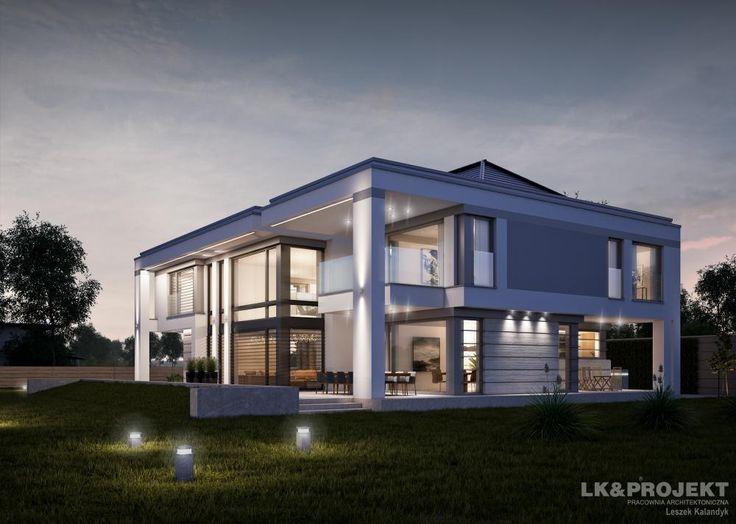 Projekty domów LK Projekt LK&1281 zdjęcie wiodące