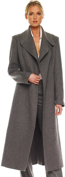 Michael Kors Melange Melton Coat. I have it in black..it's soft and sooooo warm.