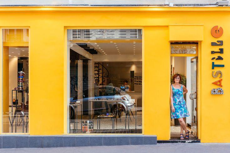 Paris Re-Tale. The city's spirit through its shop signs.
