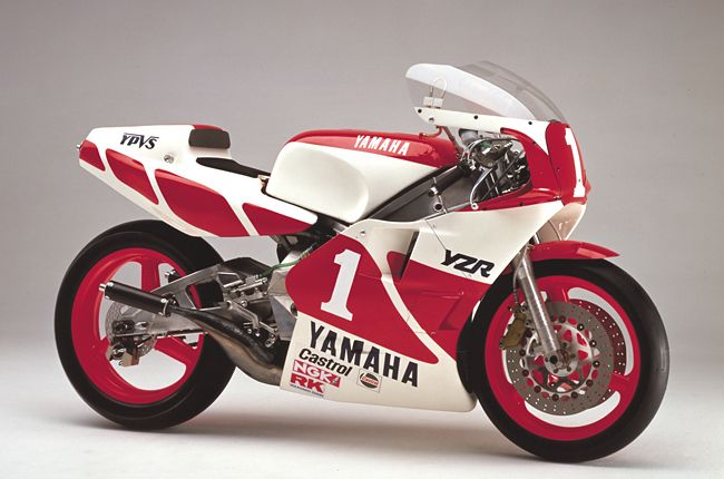 YZR500(0W81) 2nd road race bike I ever said wow couldn't stop looking at it, got an rzr 250 within a year . 1st one was Kenny Roberts bike in a '78 supercross program ad was for champion spark plugs , I think