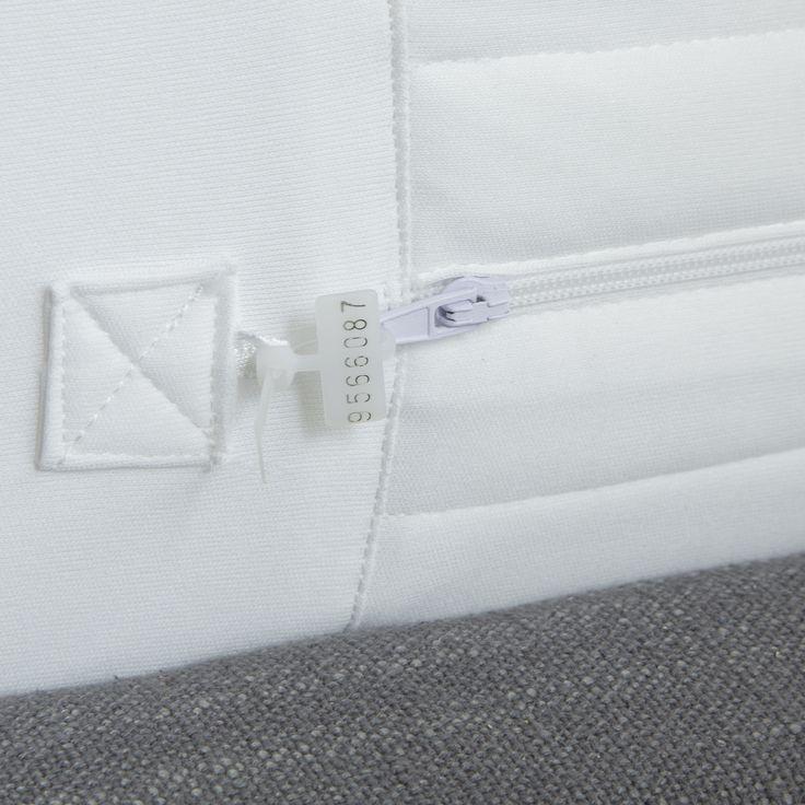 Protect-A-Bed AllerZip Smooth Mattress or Box Spring Encasement - Twin XL, White