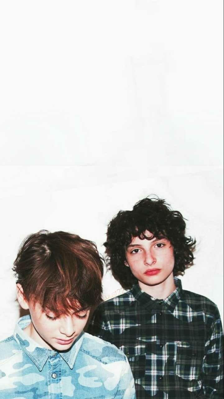 Noah Schnapp and Finn Wolfhard wallpaper