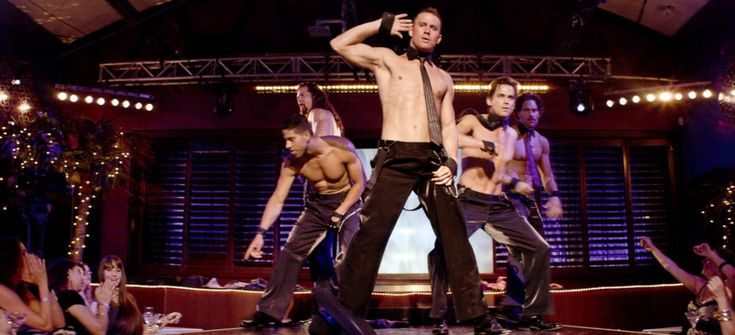 Guys are starting to go to MAGIC MIKE so they can learn the moves for their wives.