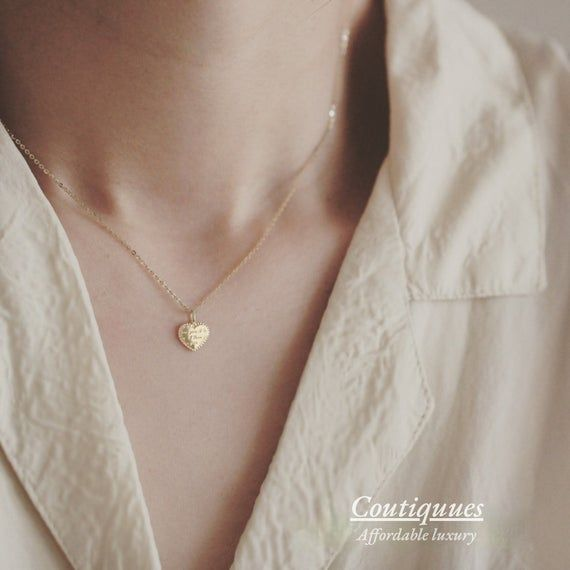 Beige necklace Casual necklaces for women Neutral beige drop pendant Cream necklace