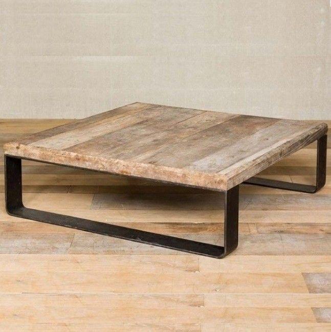 mesa madera metal - Buscar con Google