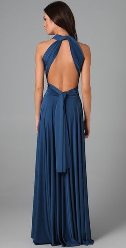 This would make such a great summer bridesmaids dress, so elegant & cool!!