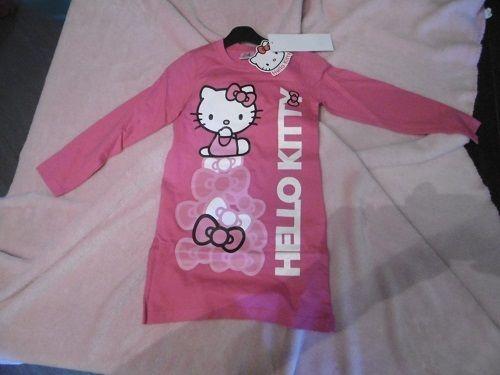 Chemise de nuit Hello Kitty fuchsia en 6 ans