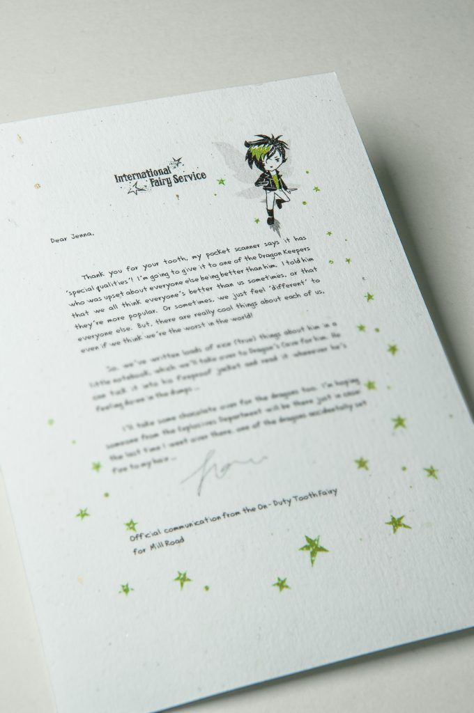 Best Fairy  Tooth Fairy Letters  International Fairy Service