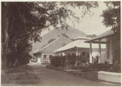 Assistent-residentswoning Banda Naira, ca. 1895 - collectie KITLV