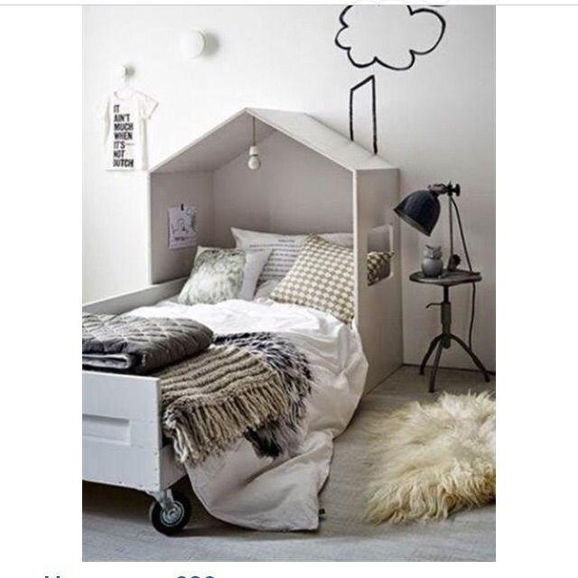 Кроватка-дом для детей