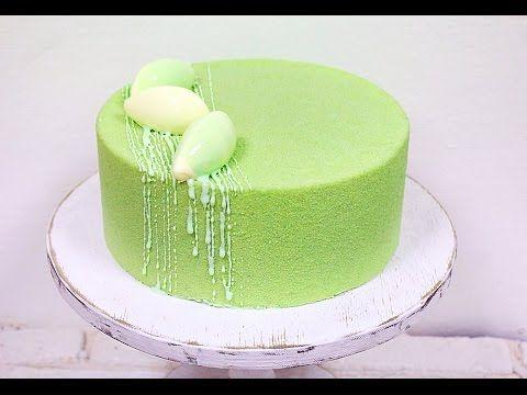 Муссовый лимонно-клубничный торт / Mousse Lemon-Strawberry Cake - YouTube