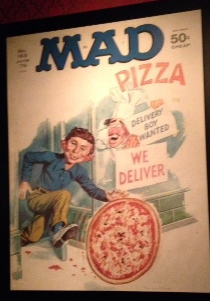 Alfred e neuman big brick pizza