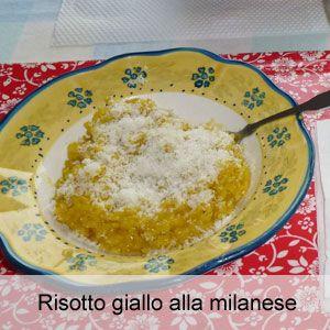 Ricetta risotto giallo allo zafferano