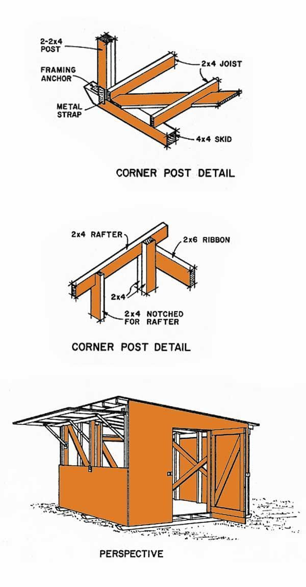 12x12 Lean To Storage Shed Plans 12x12shedplan Shed Plans Diy Storage Shed Plans Storage Shed Plans