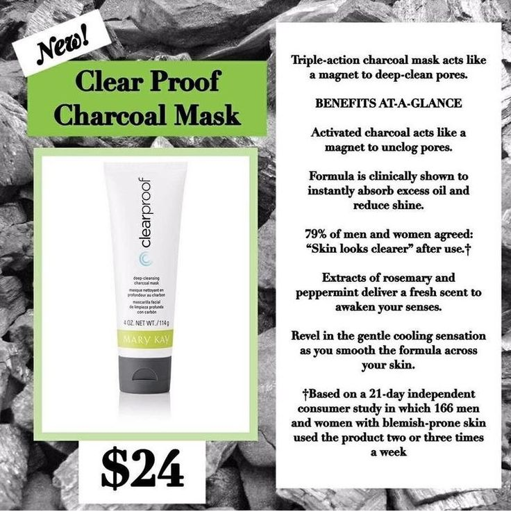 Mary Kay debuted their ClearProof Charcoal Mask in mid May of 2017 and by mid June, 1 million masks had already been sold? Why? Here are my thoughts on why: The mask works! the mask uses charcoal t…