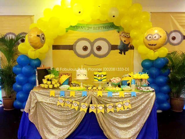 Fabulous Party Planner 002081333 D Event Services Kids Birthday Party Planner Mal Birthday Party Planner Kids Birthday Party Planner Minion Birthday Party