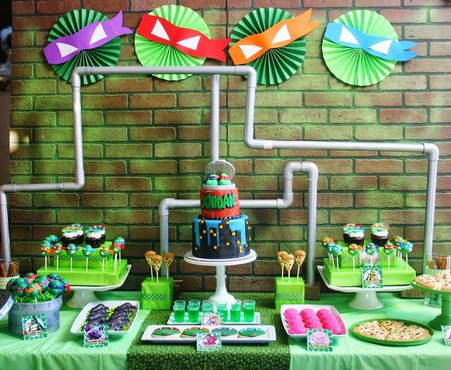 Encontrando Ideias: Festa Tartarugas Ninja!!
