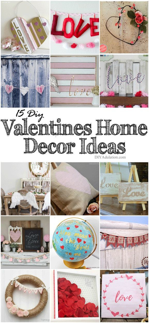 15 DIY Valentines Home Décor Ideas + MM 189