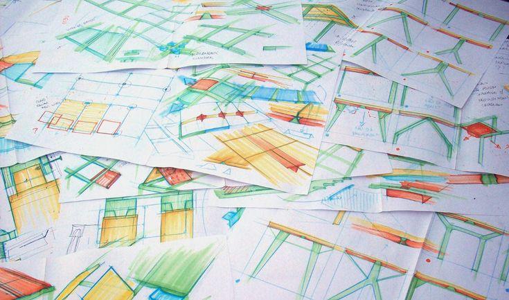 Tab System bureau modulaire par Sónia Soeiro