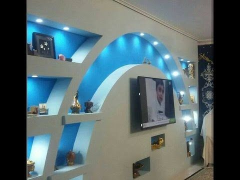 2017  LCD  YouTube  Alpan  False ceiling living room False ceiling